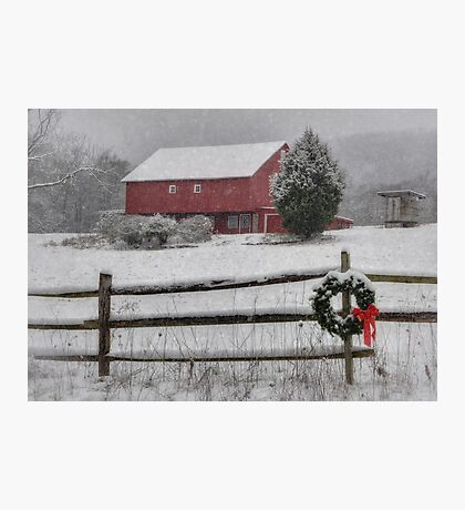 Clarks Valley Christmas Photographic Print