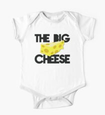 The BIG CHEESE like a boss cheesy humour! Kids Clothes