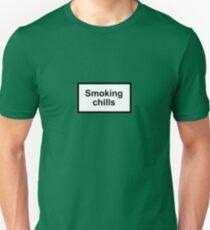 Smoking Chills Unisex T-Shirt