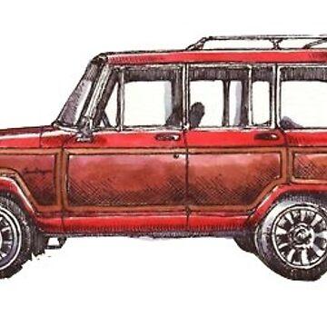 Carro rojo de charlo19