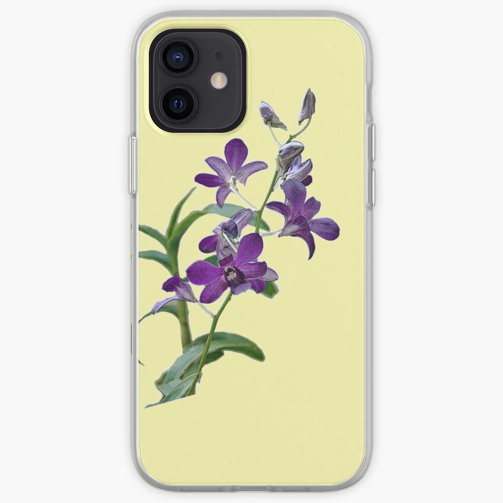 Purple Cymbidium Orchids for iPhone iPhone Case & Cover