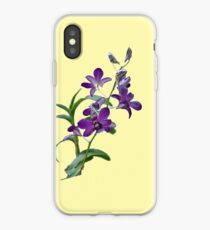 Purple Cymbidium Orchids for iPhone iPhone Case