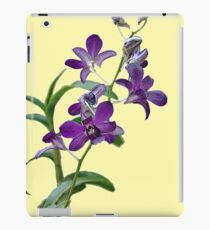 Purple Cymbidium Orchids for iPad iPad Case/Skin