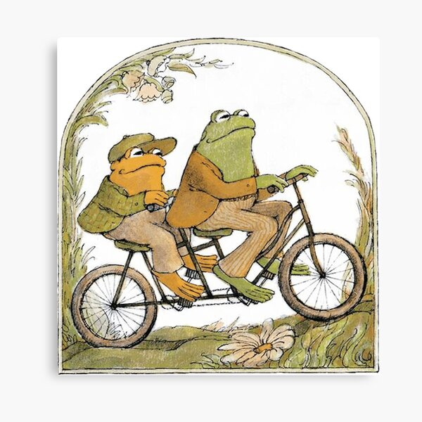 Frog and Toad Canvas Print