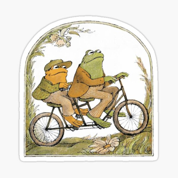 Frog and Toad Sticker