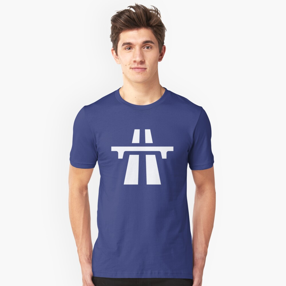 my way or the motor way Unisex T-Shirt Front
