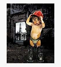 Campaign Memories: Baby Drill  Photographic Print