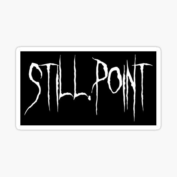 Still.Point Style 4 Sticker