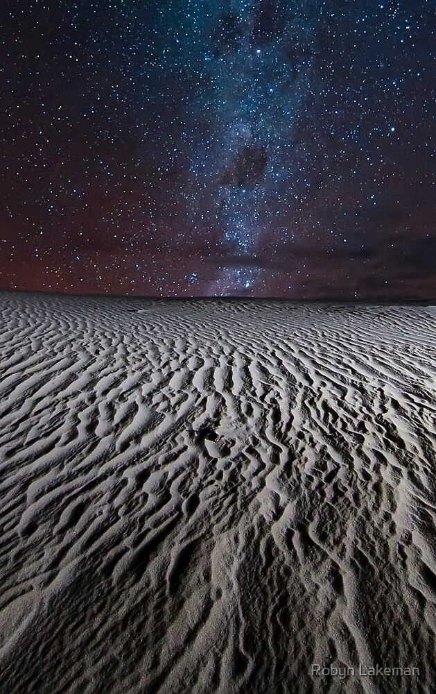 Ice cream sand dunes by Robyn Lakeman