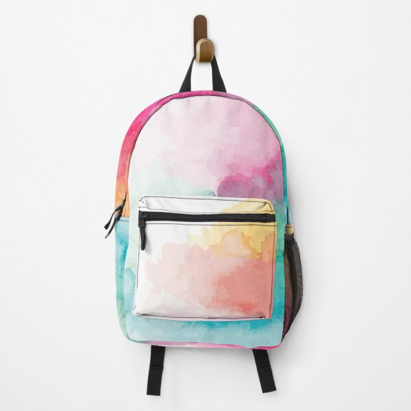 Watercolor Rainbow Blend Backpack