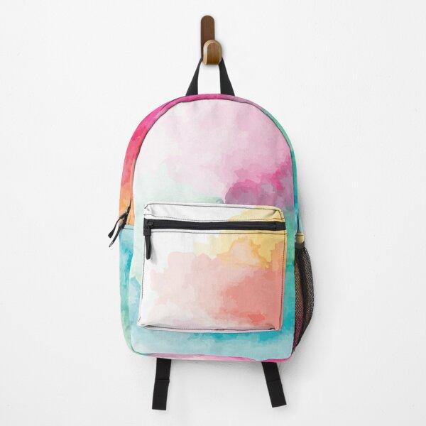 Watercolor Rainbow Blend Backpack
