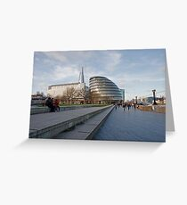 City Hall in London Greeting Card