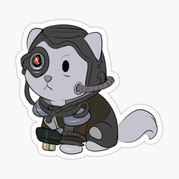 Borg Cat Sticker