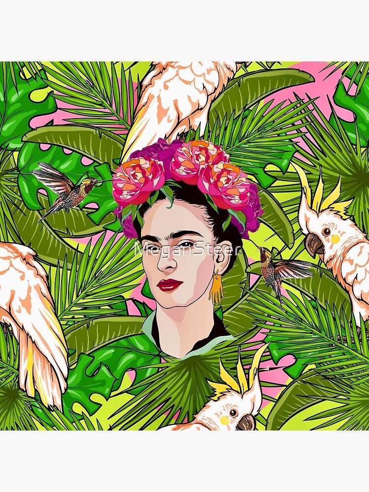 Frida in Flight, II by MeganSteer