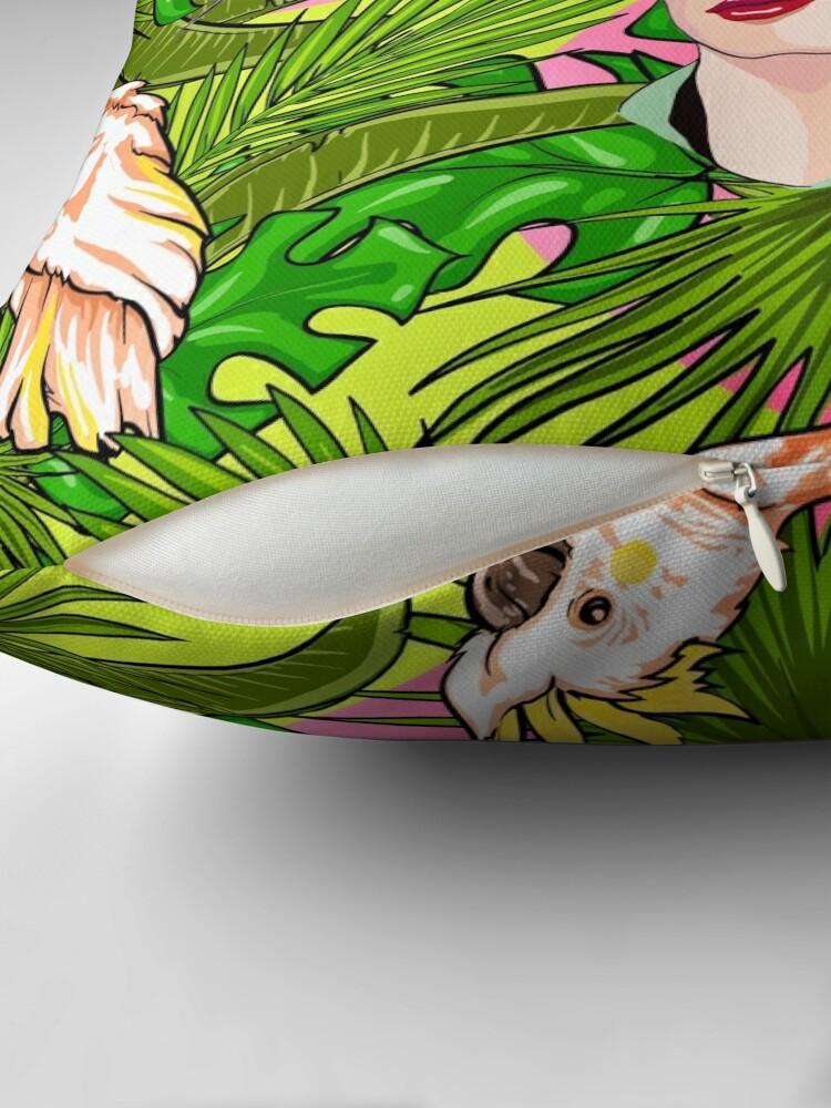 Alternate view of Frida in Flight, II Throw Pillow
