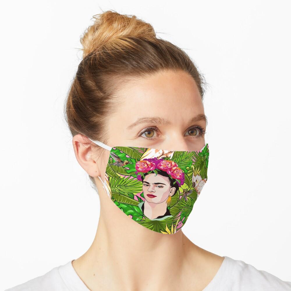 Frida in Flight, II Mask