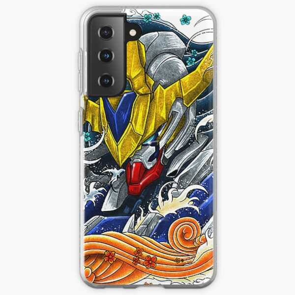 Gundam Barbatos kanagawa Samsung Galaxy Soft Case