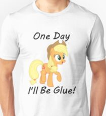 "Apple Jack ""One Day Ill Be Glue:  Unisex T-Shirt"