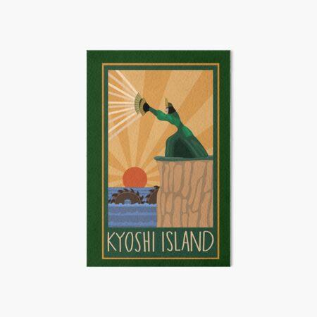 Kyoshi Island Print w/ the Unagi Art Board Print