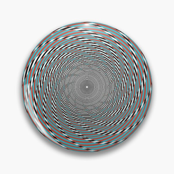 Hypnotic swirl, Optical illusion, Concentric Circles, Geometric Art - концентрические круги Pin
