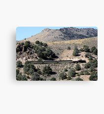 V&T Railroad Canvas Print