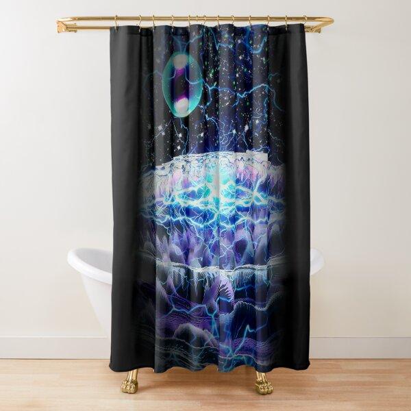 Spellefinella Shower Curtain