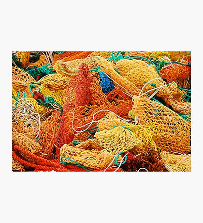 Fishing Float Nets Photographic Print