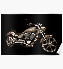 Victory Motorcycle Poster