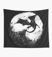 Midnight Desolation Wall Tapestry
