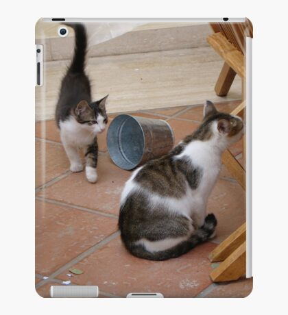 Curiousity Comes in Twos iPad Case/Skin