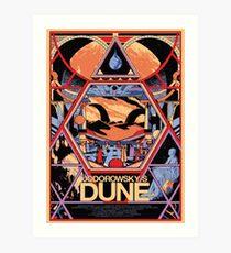 Jodorowsky's Dune Art Print