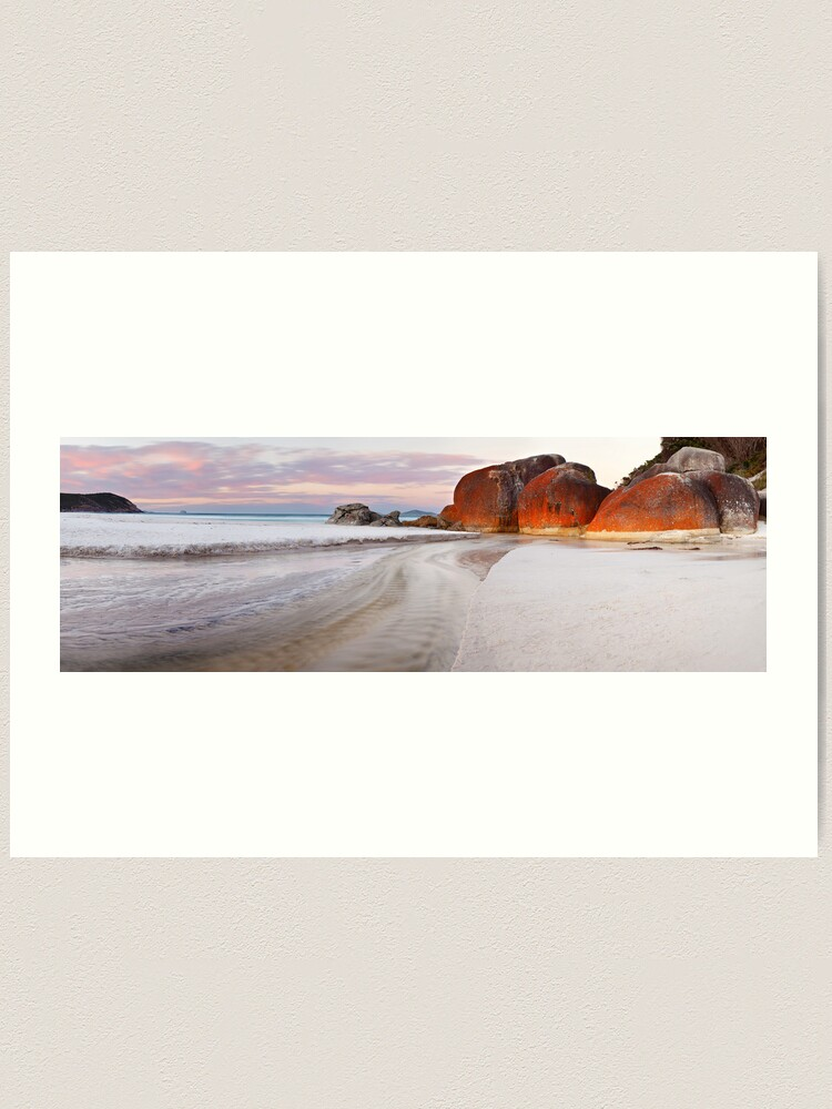 Alternate view of Squeaky Beach, Wilsons Promontory, Victoria, Australia Art Print