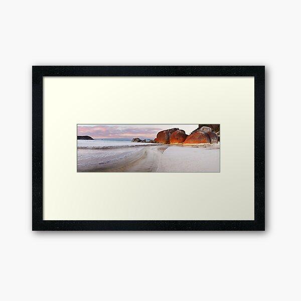 Squeaky Beach, Wilsons Promontory, Victoria, Australia Framed Art Print