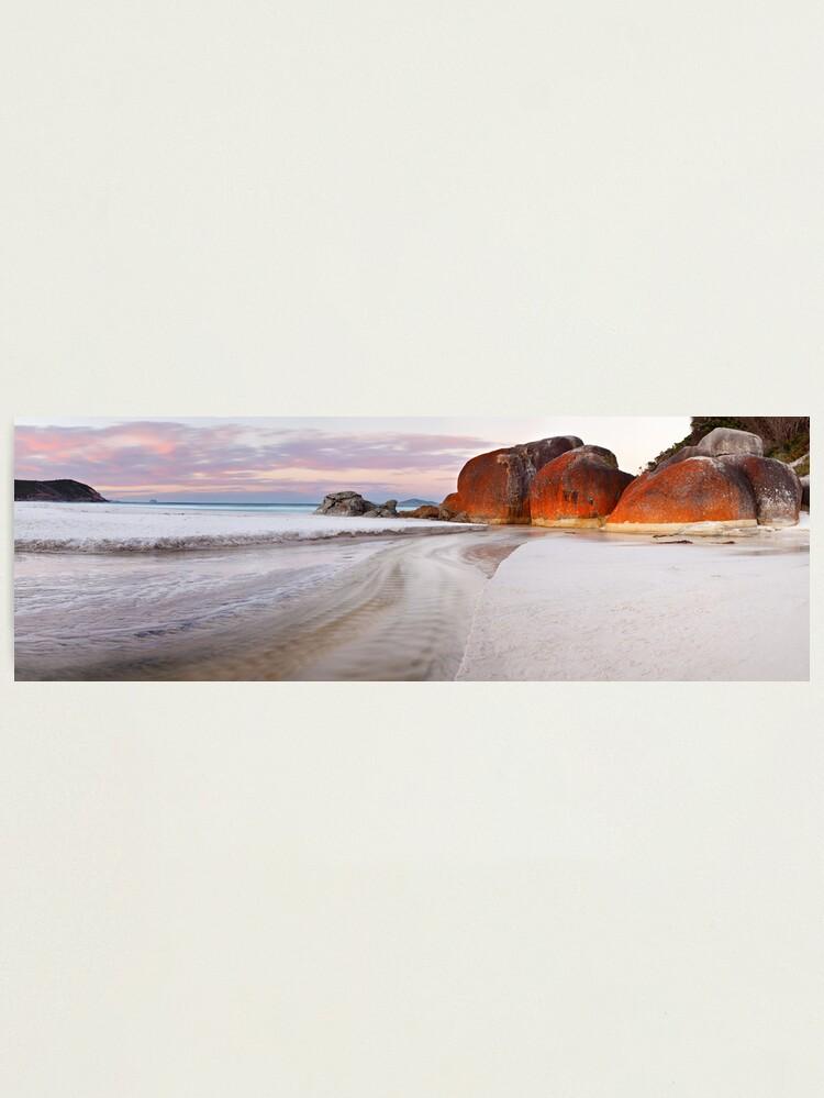 Alternate view of Squeaky Beach, Wilsons Promontory, Victoria, Australia Photographic Print