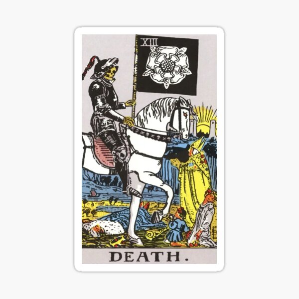 Tarot - Death Sticker