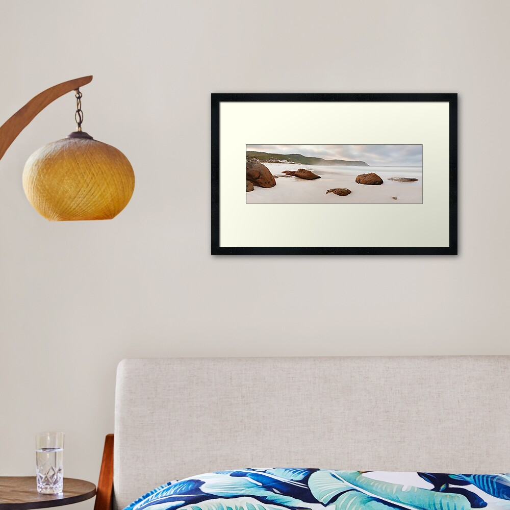 Squeaky Beach, Wilsons Promontory, Victoria, Australia Framed Art Print