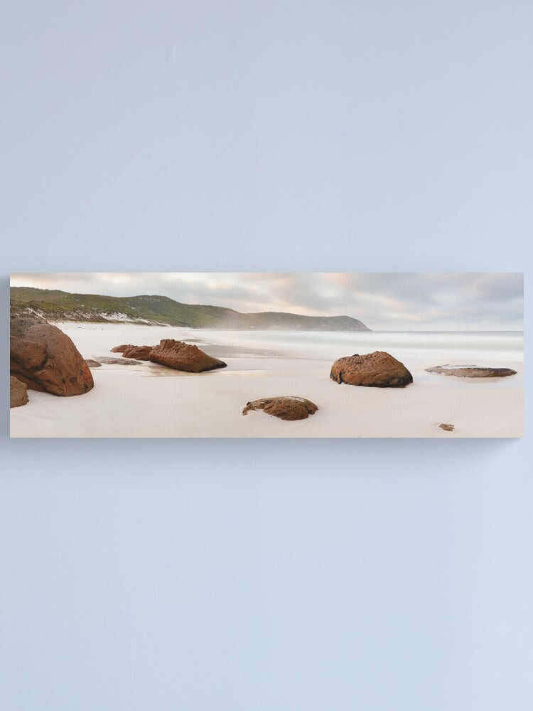 Alternate view of Squeaky Beach, Wilsons Promontory, Victoria, Australia Canvas Print