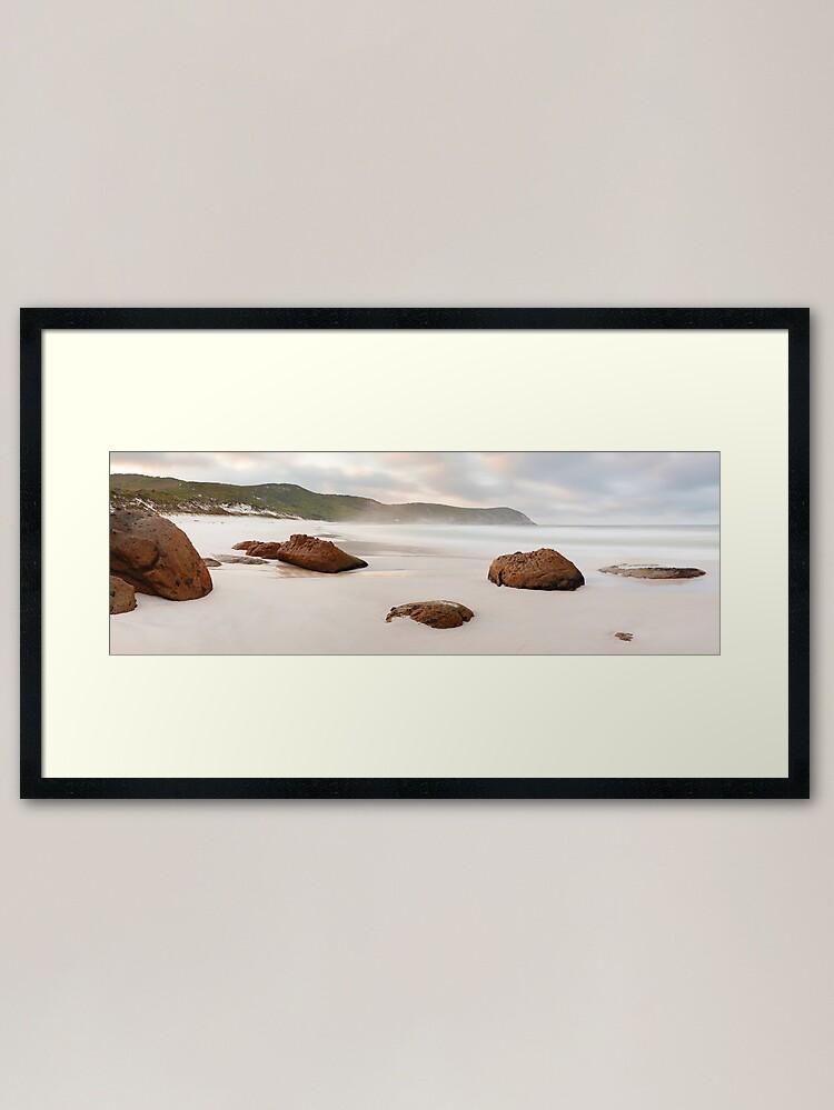 Alternate view of Squeaky Beach, Wilsons Promontory, Victoria, Australia Framed Art Print