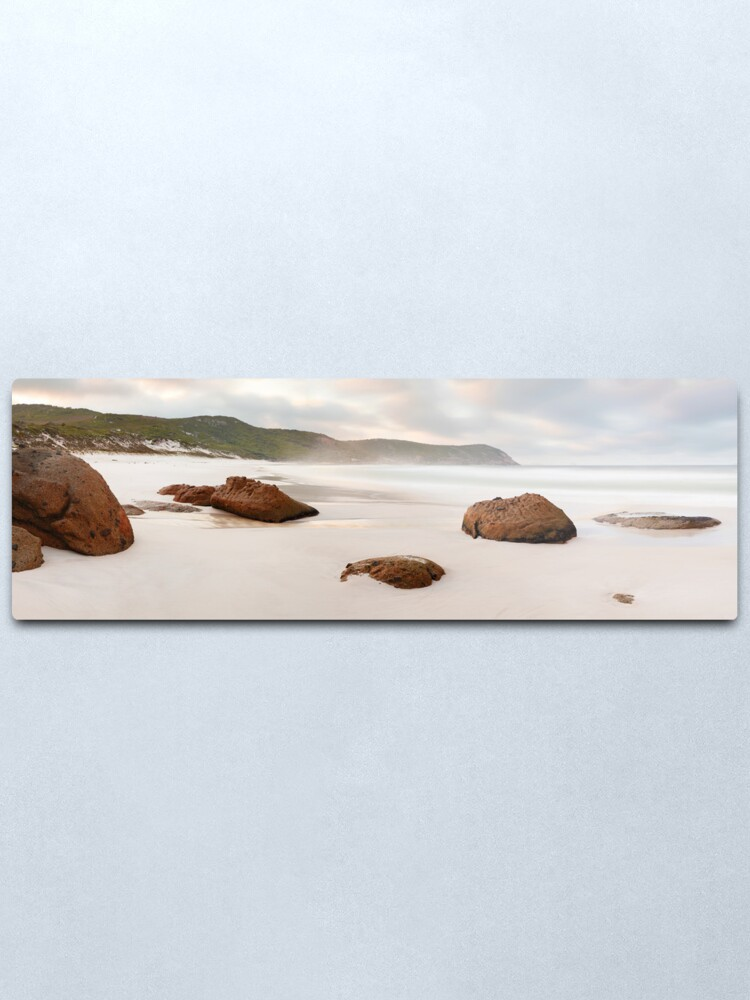 Alternate view of Squeaky Beach, Wilsons Promontory, Victoria, Australia Metal Print