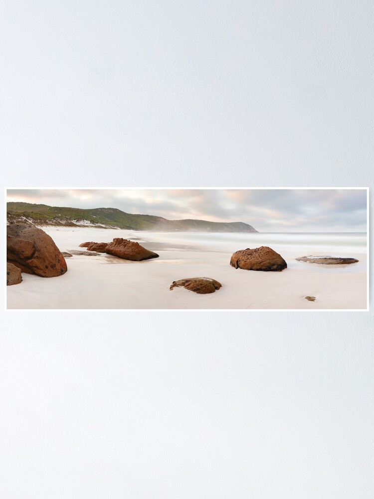 Alternate view of Squeaky Beach, Wilsons Promontory, Victoria, Australia Poster