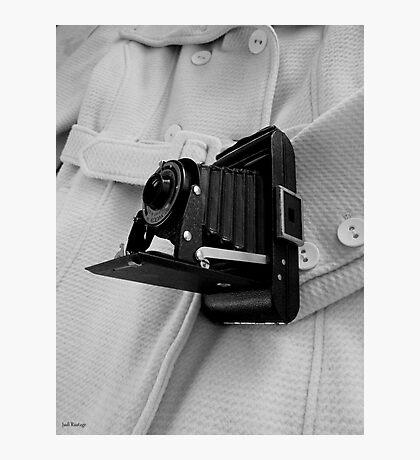 Retro Focus Photographic Print