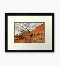 Uluru Base Walk Framed Print