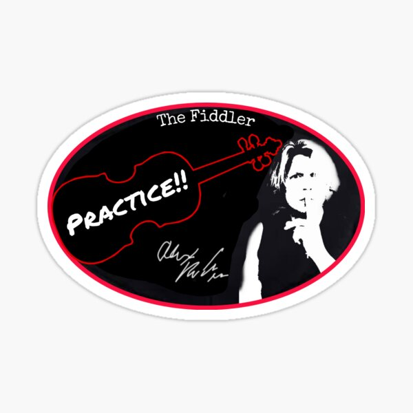 OFFICIAL Alex DePue Practice Sticker with Signature! Sticker