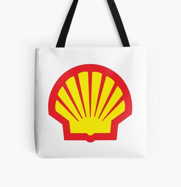Shell Gas Logo All Over Print Tote Bag