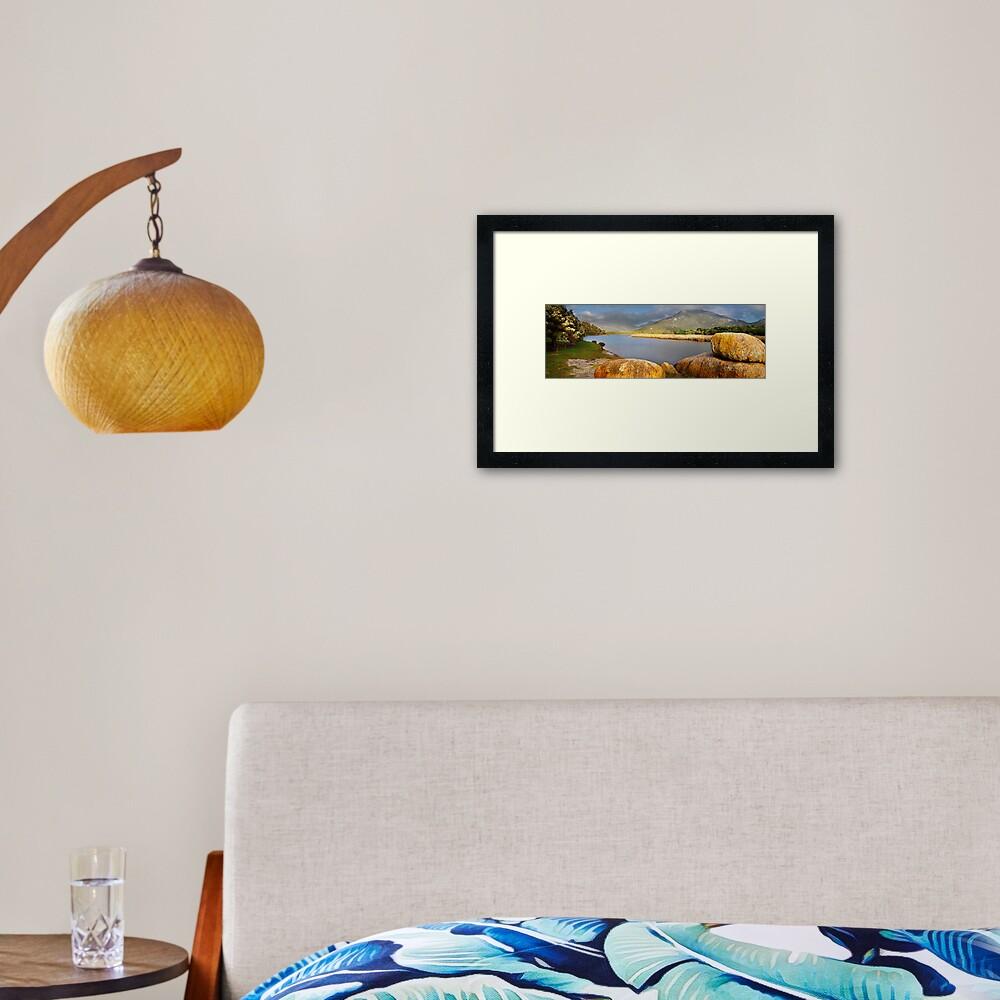 Tidal River, Wilsons Promontory, Victoria, Australia Framed Art Print