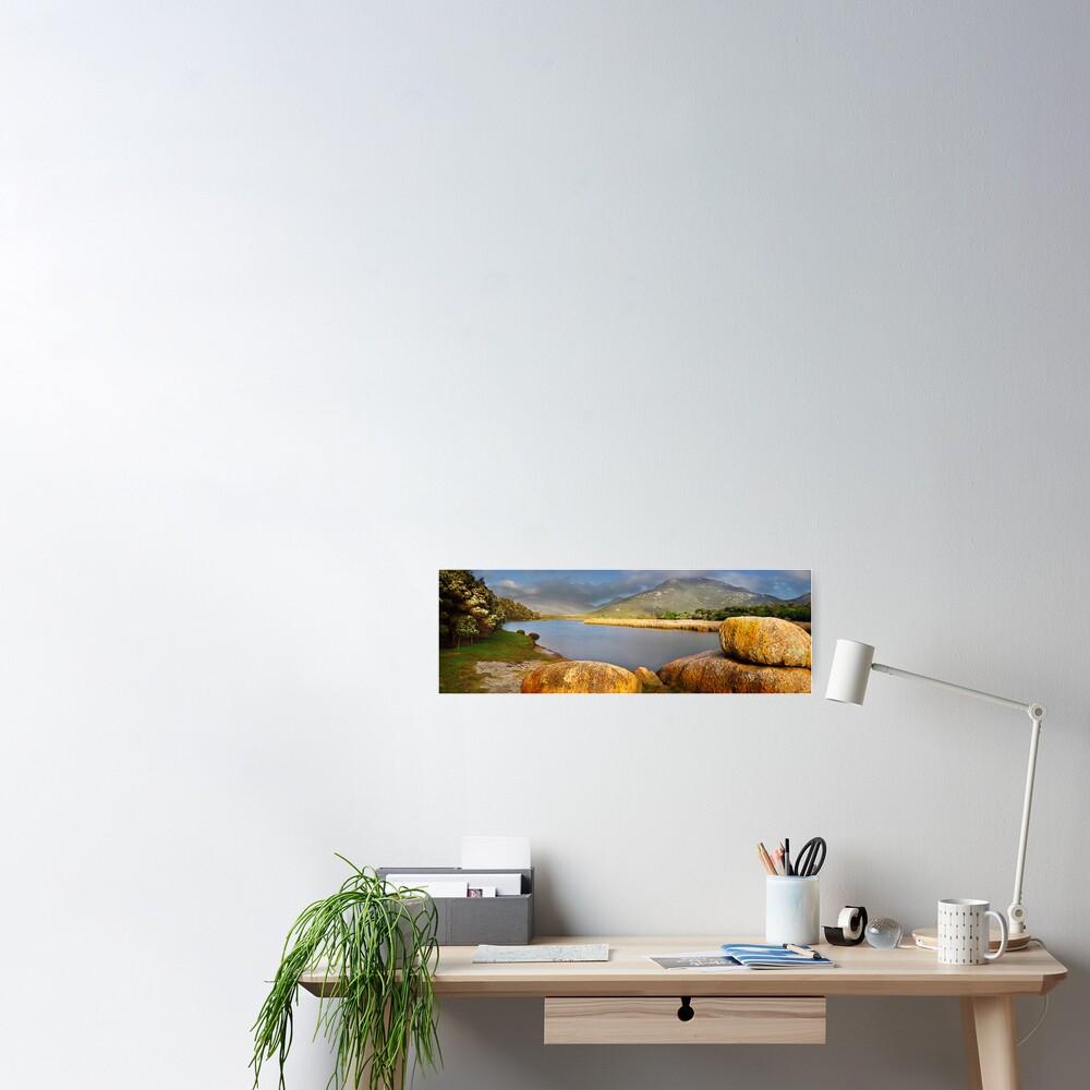 Tidal River, Wilsons Promontory, Victoria, Australia Poster