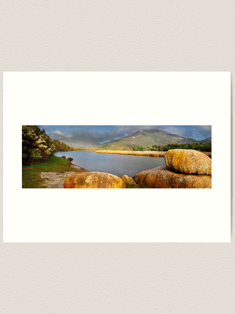 Alternate view of Tidal River, Wilsons Promontory, Victoria, Australia Art Print