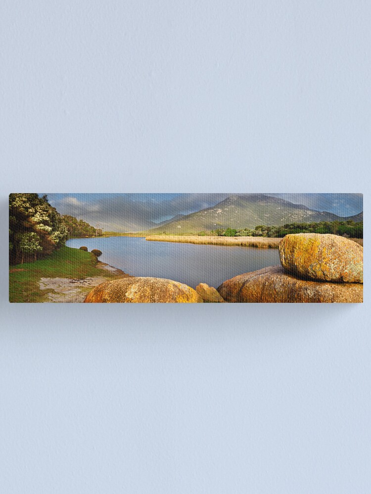 Alternate view of Tidal River, Wilsons Promontory, Victoria, Australia Canvas Print