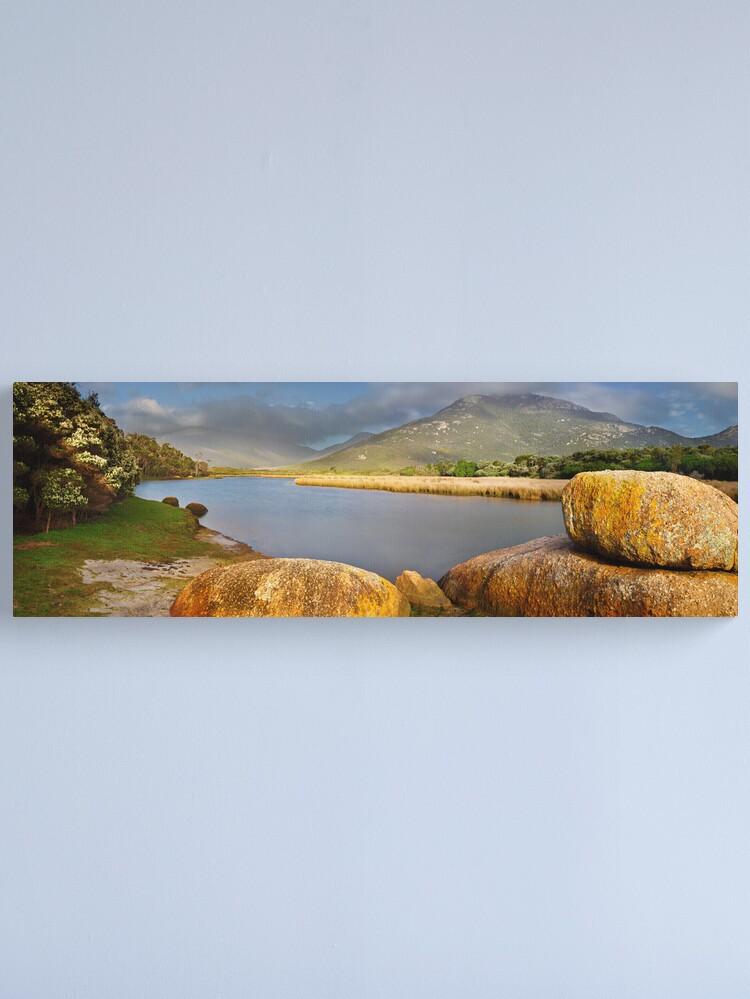 Alternate view of Tidal River, Wilsons Promontory, Victoria, Australia Canvas Print
