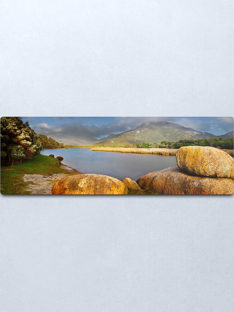 Alternate view of Tidal River, Wilsons Promontory, Victoria, Australia Metal Print